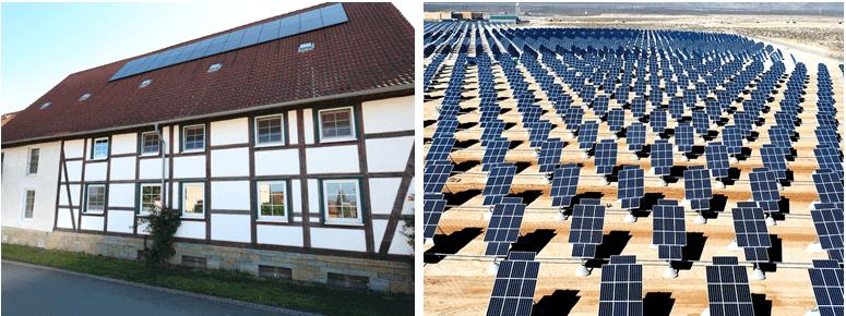 Versicherungsschutz für verschiedenste Anlagen im Bereich Photovoltaik