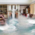 Überschwemmung Wohnzimmer
