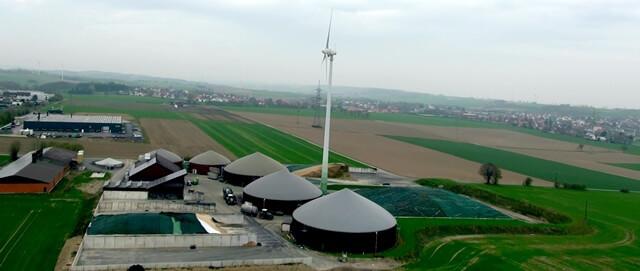 Bei EVK versicherte Biomasse-Anlagen