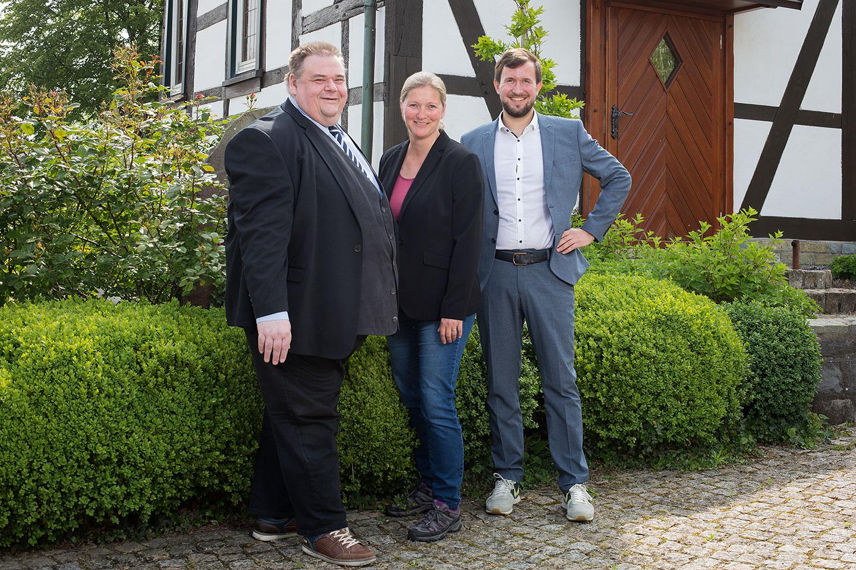neue Mitarbeiter Fröndhoff Hüttemeister Bischof