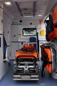 Krankenwagen Rücktransport