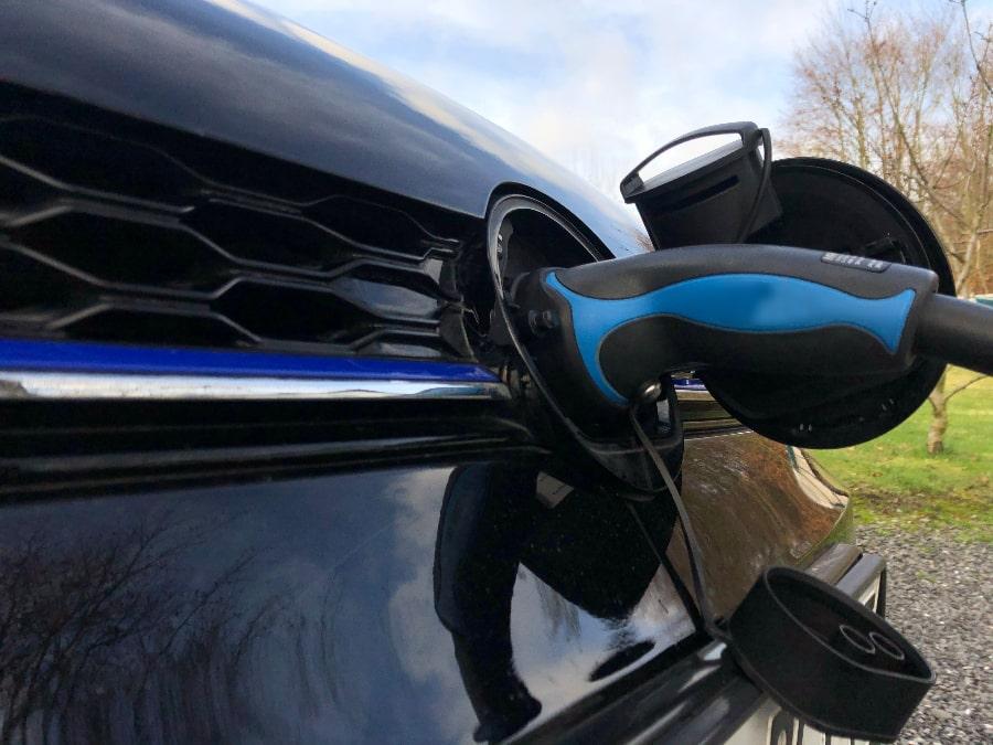 Ladevorgang E-Auto