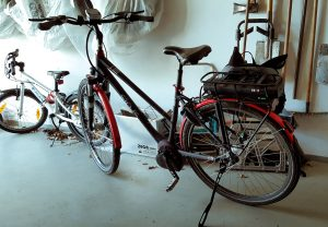 Pedelecs in der Garage