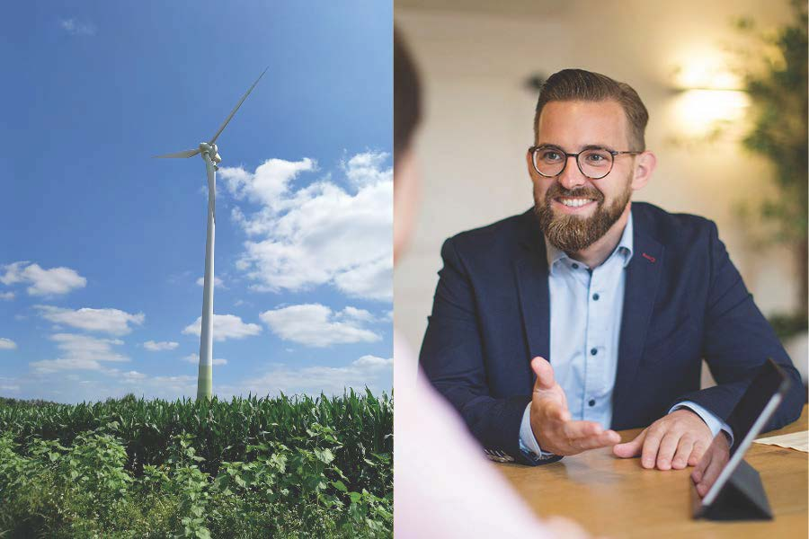 Windenergieanlage beratung Vollwartungsvertrag