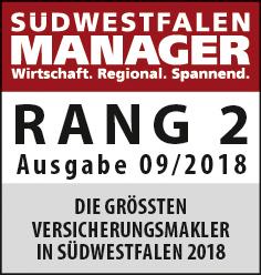 Ranking Südwestfalen Manager Versicherungsmakler