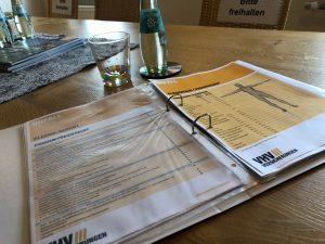 Unterlagen Beratungsgespräch Unfallversicherung