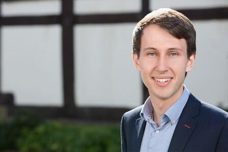 Auszubildender Ruben Wiethoff Abschlussprüfung