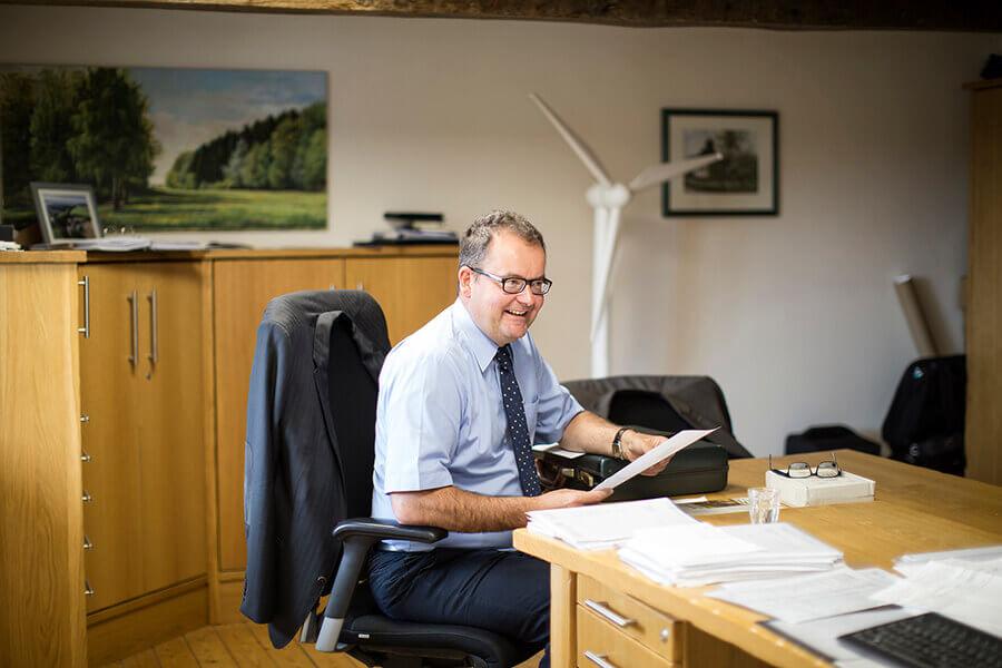 Geschäftsführer Christian Schlösser Windenergietage 2017