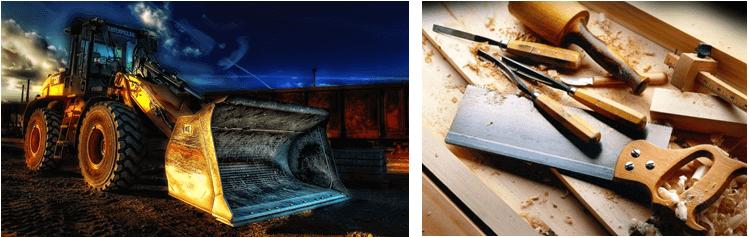 Versicherungsschutz für das Handwerk und die Baubranche